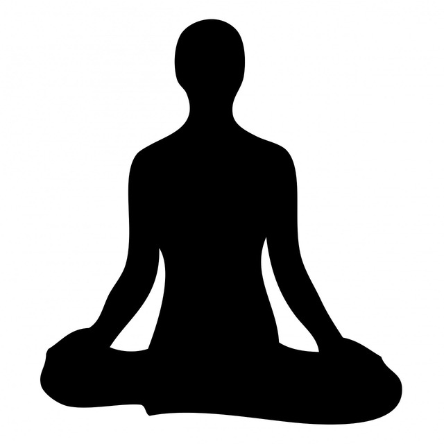 Meditation meditating black, beauty fashion.