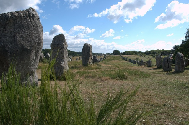 Megaliths menhirs france.