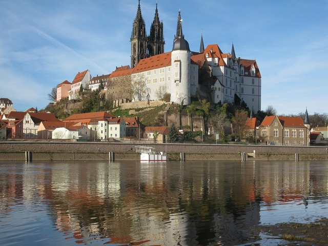 Meissen elbe germany.