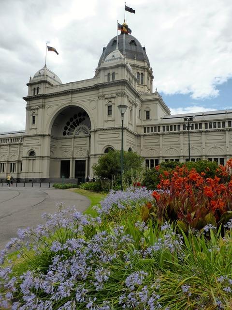 Melbourne exhibition building architecture, architecture buildings.