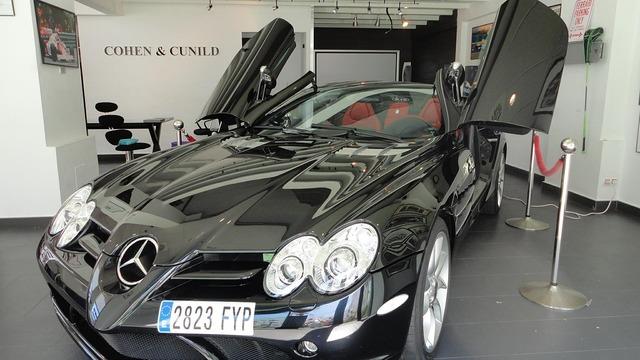 Mercedes benz brand.