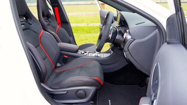 Mercedes-benz car interior, transportation traffic.