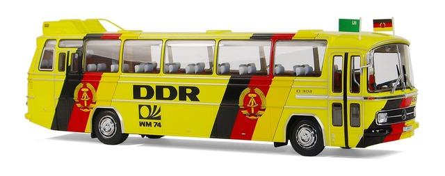 Mercedes benz o302 fussballweltmeisterschaft 1974.
