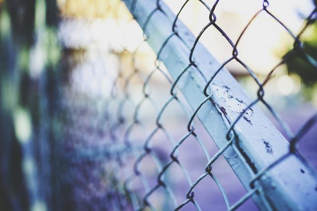 Metal mesh green.