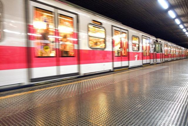 Metro milan italy.