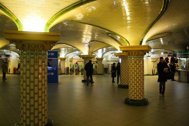 Metro paris france, architecture buildings.