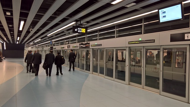 Metro station barcelona.