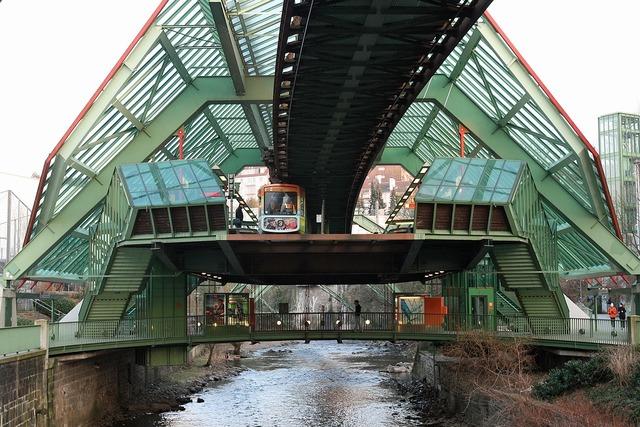 Metro wupertal river.