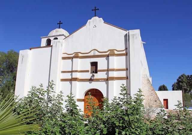 Mexico mission church, religion.