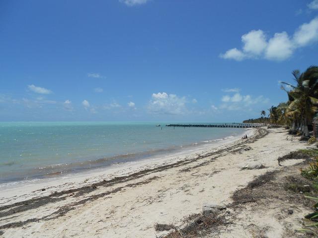 Mexico tulum beach, travel vacation.