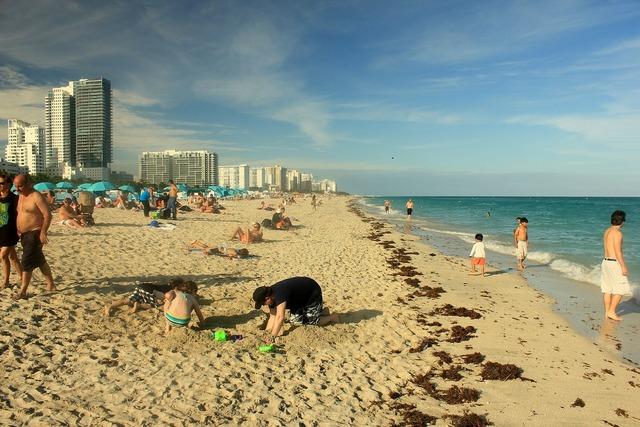 Miami beach usa, travel vacation.