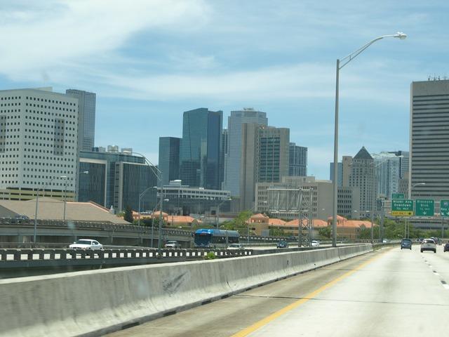 Miami skyline building, architecture buildings.