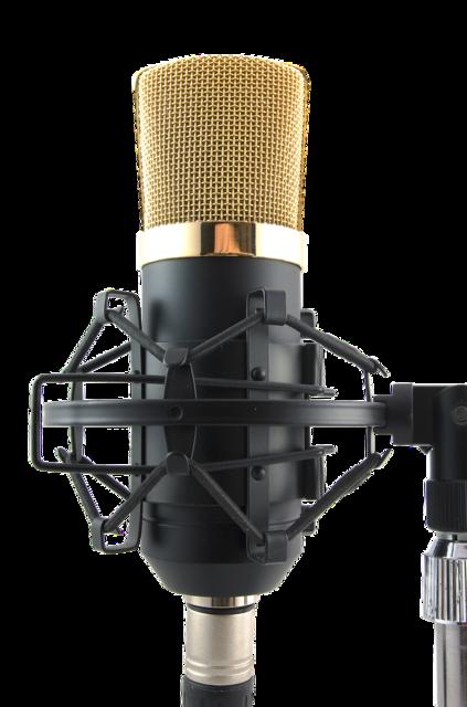 Mic transparent microphone.