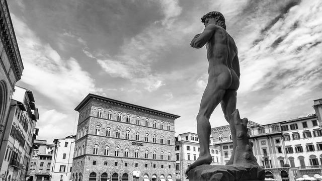 Michelangelo david florence, travel vacation.
