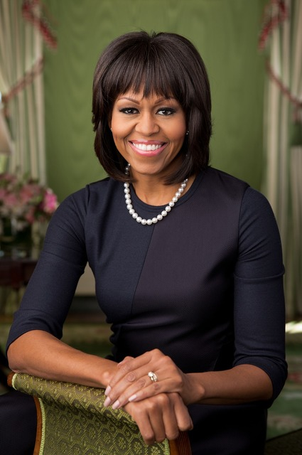 Michelle obama 2013 official portrait, beauty fashion.