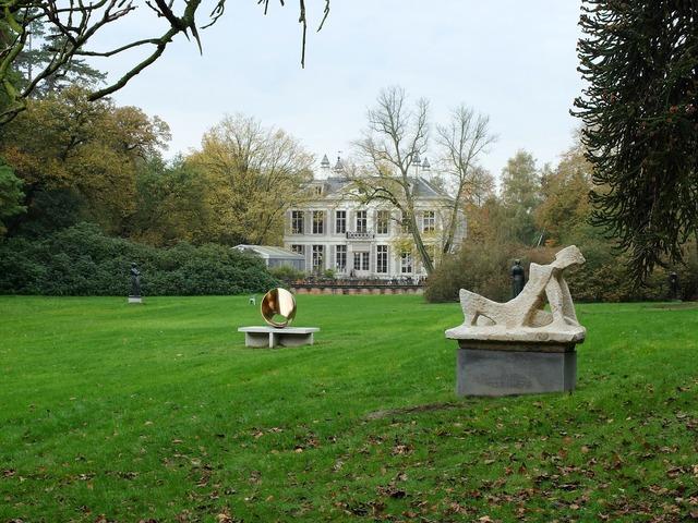 Middelheim park open air museum sculptures.