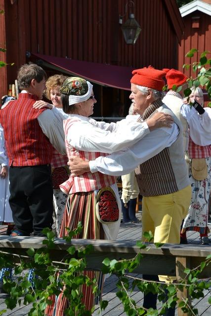 Midsummer celebration tunet alno, sports.