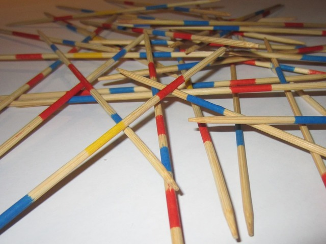 Mikado bars pattern, backgrounds textures.