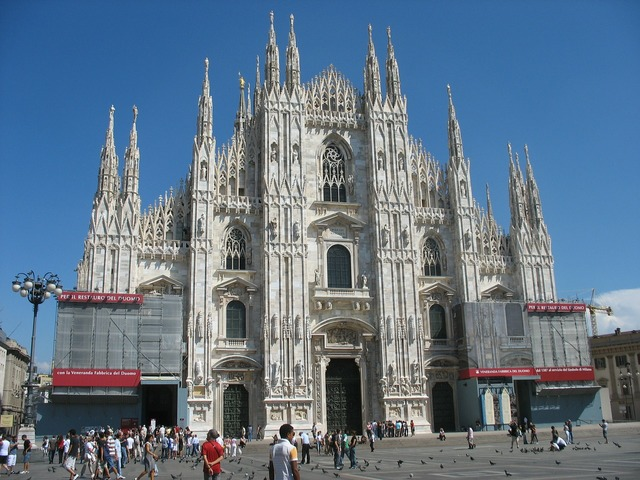 Milan cathedral milan cathedral, architecture buildings.