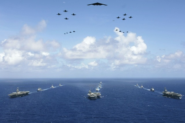 Military aircraft carriers strike groups formation, travel vacation.