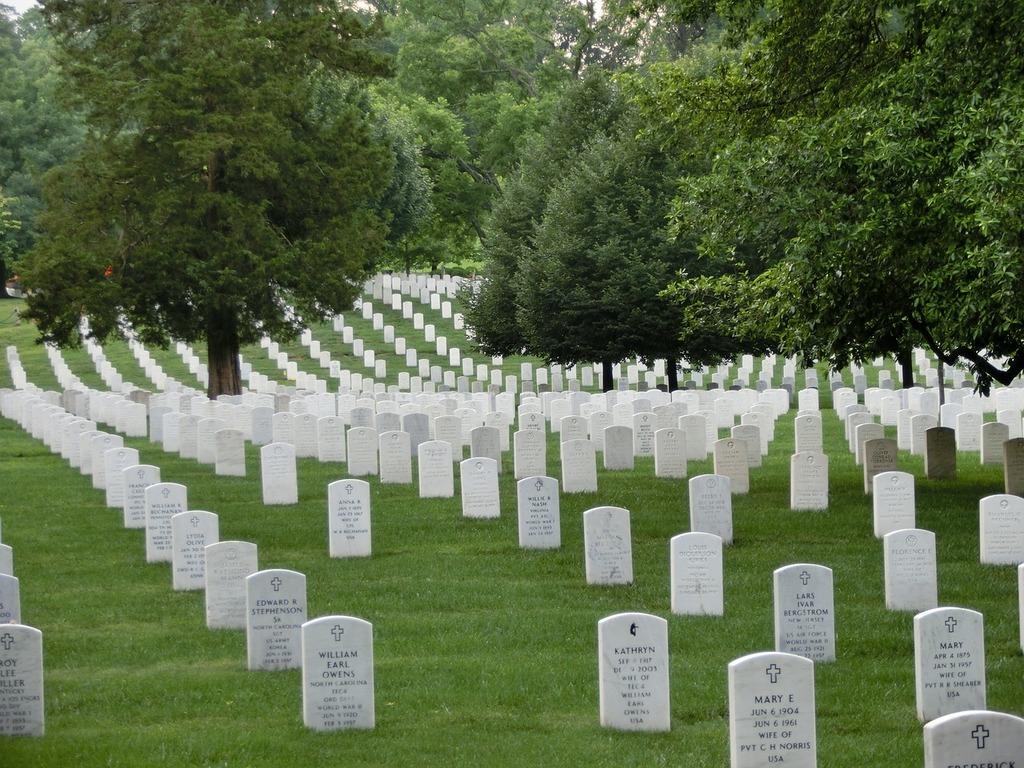 Military cemetery memorial usa.