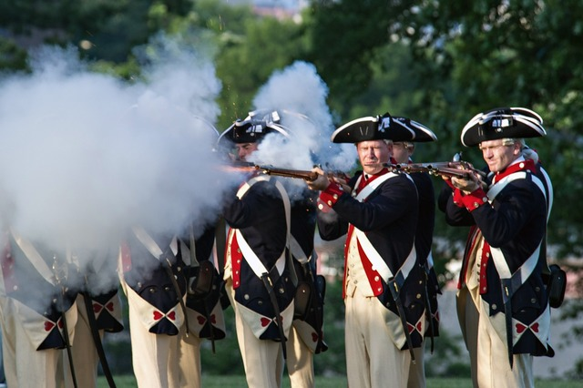 Military ceremonial history, places monuments.