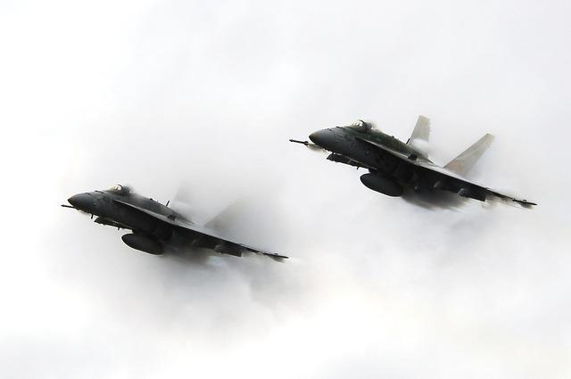 Military jets flight flying.