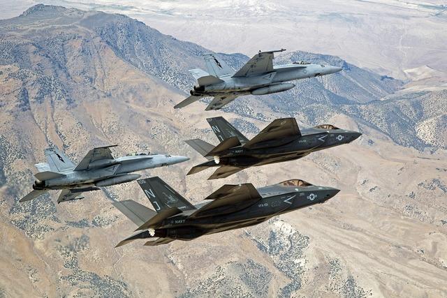 Military jets flight flying, nature landscapes.