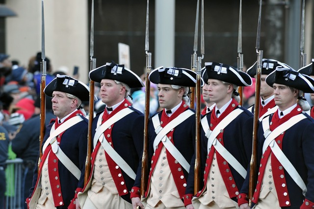 Military uniforms historical.