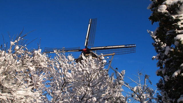 Mill wind mill netherlands, nature landscapes.