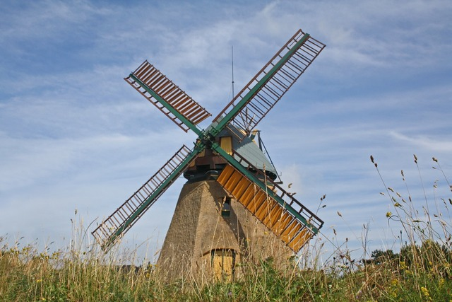 Mill windmill amrum.