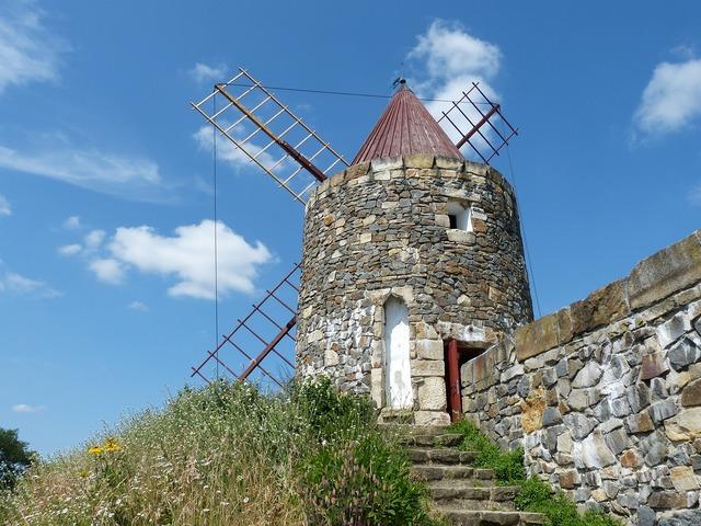 Mill windmill wind power.