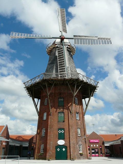 Mill windmill wing.