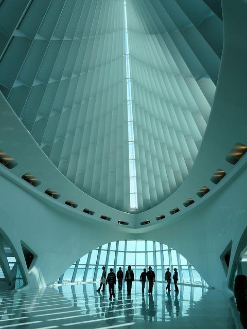 Milwaukee art museum museum of fine arts milwaukee, architecture buildings.