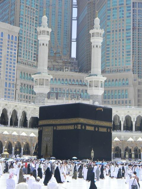 Minarets al abrar mecca saudi arabia, architecture buildings.