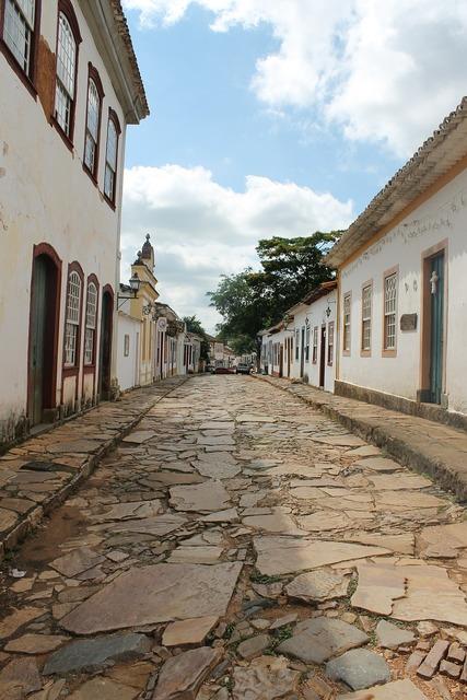 Minas tiradentes historic city.