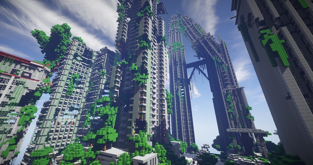 Minecraft Surival Games 2 Map Architecture Buildings Picryl