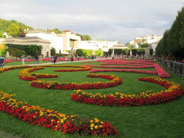 Mirabel gardens austria salzburg.