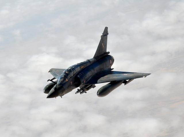 Mirage jet airplane.