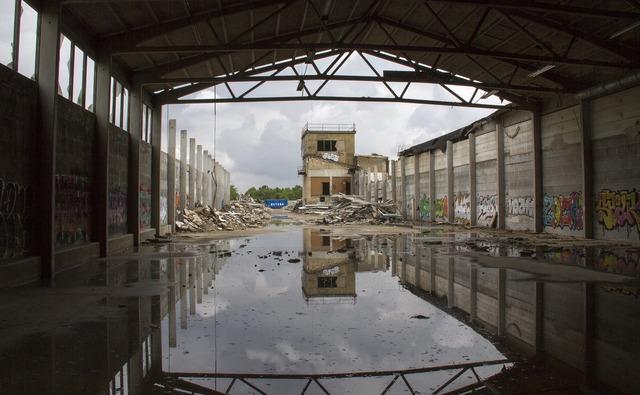 Mirroring building water reflex, architecture buildings.