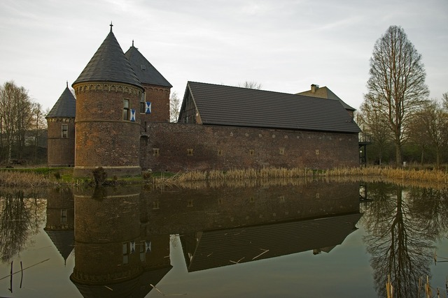 Mirroring castle architecture, architecture buildings.