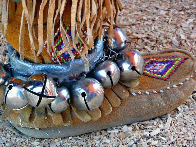 Mocassin shoe native.