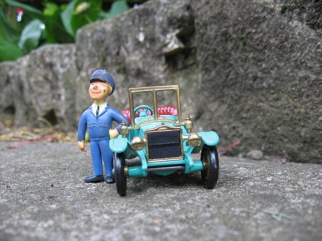 Model car collect traffic, transportation traffic.