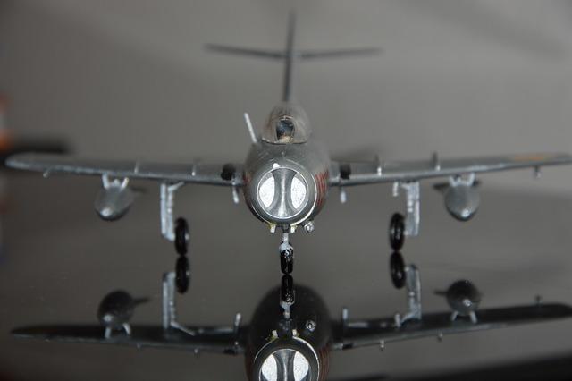 Model mig15 model airplane.