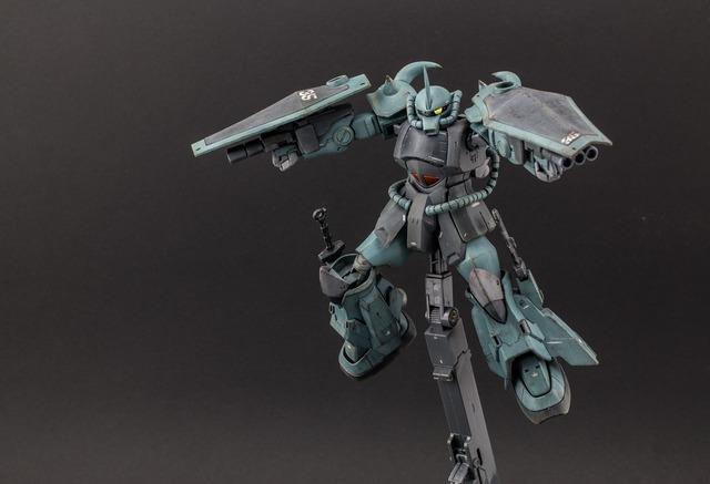 Model toys robot.