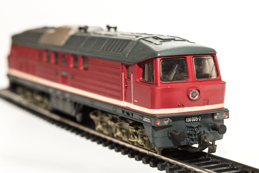Model train locomotive diesel locomotive.