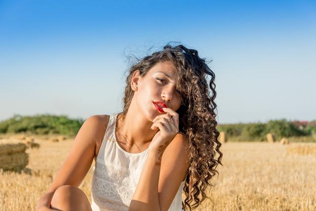 Model woman portrait, beauty fashion.