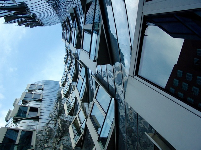 Modern architecture düsseldorf, architecture buildings.