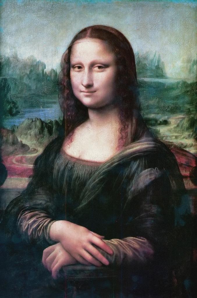 Mona lisa smile the joconde, emotions.