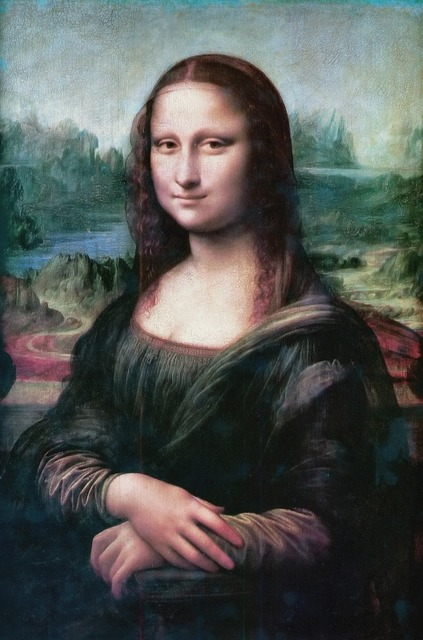 Mona lisa smile the joconde, emotions.